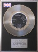 "THE HOLLIES -  7"" Platinum Disc -  HE AIN'T HEAVY... HE'S MY BROTHER"